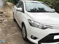 Bán xe Toyota Vios 1.5MT 2017, màu trắng, giá chỉ 369 triệu