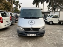 Bán xe tải Van 3 chỗ, đời 2009, tải trọng được phép trở 1530 kg, hiệu Mercedes Sprinter (xe tải van xịn từ nhà máy) máy ngon