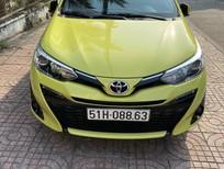 Bán xe Yaris G SX 2019, màu vàng, như mới