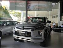 Bán ô tô Mitsubishi Triton, màu bạc, nhập khẩu chính hãng, góp 80% xe, Lh Lê Nguyệt