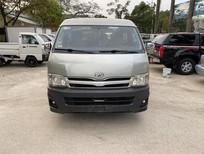 Bán xe Toyota Hiace 16 chỗ máy dầu đời 2011