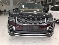 Bán xe mới Landrover Rangerover SV Autobiography L màu đỏ nóc đen, nội thất da bò, xe sản xuất 2021, nhập mới 100%