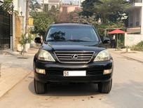 Cần bán lại xe Lexus GX 470 2008, màu đen, nhập khẩu chính hãng