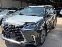 Bán xe Lexus LX570 Super Sport S màu xanh bộ, xe sản xuất năm 2021, bản Trung Đông nhập, mới 100% đủ đồ nhất