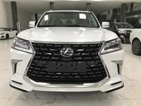 Viet Auto Luxury bán xe Lexus LX570 Super Sport S sản xuất 2021, màu trắng nội thất nâu da bò, xe nhập khẩu Trung Đông