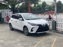 Bán xe Toyota Yaris G 2021, màu trắng, xe nhập, giá tốt
