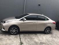 Bán ô tô Toyota Vios E CVT 2021, màu ghi vàng