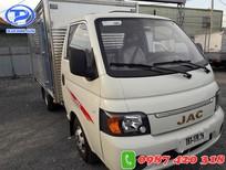 Xe tải JAC X99 thùng kín. Hỗ trợ trả góp đến 80% giao xe ngay