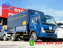 Xe tải Nissan 3T5 thùng mui bạc 4m3. Hỗ trợ trả góp đến 80% giao xe ngay