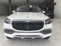 Bán Mercedes Benz GLS 600 Maybach sản xuất 2021, màu trắng, nội thất nâu nhập mới 100%