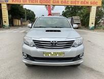 Cần bán xe Toyota Fortuner 2.5G 2014, màu bạc