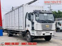 Xe tải 8 tấn thùng pallets - Xe tải Faw 8 tấn thùng kín container - bán trả góp xe Faw 8 tấn