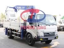 Xe tải cẩu 3 tấn 5 gắn cẩu Tadano 3 tấn