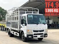 Xe tải Mitsubishi Fuso Canter TF4.9 - động cơ Mitsubishi - tải trọng 1.99 tấn - thùng dài 4.45 mét - mới nhất