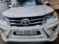 Bán xe Fortuner AT máy xăng, màu trắng sx 2019 như mới