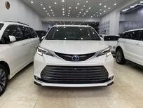 Cần bán xe Toyota Sienna Platinum 2021, màu trắng, nhập khẩu Mỹ