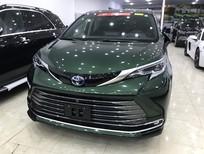 Toyota Sienna Platinum 2021, màu bộ đội, kịch đồ, giá tốt