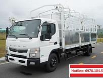 Bán xe tải Mitsubishi Fuso Canter TF8.5 thùng mui bạt 4,5T – 5T.