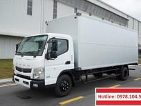 Xe ô tô tải  thùng kín 4,5T – 5T mới nhất từ Nhật Bản Mitsubishi Fuso Canter TF8.5