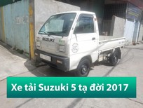 Bán xe tải 5 tạ cũ Suzuki thùng lửng đời 2017 Hải Phòng