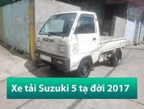 Bán xe tải 5 tạ Suzuki cũ thùng lửng đời 2017 Hải Phòng