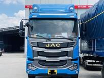 giá xe tải JAC A5 thùng bạt dài 9m6 mới 2021