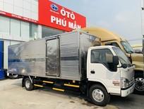 Xe tải Isuzu 1.9 tấn thùng kín 6m2 giao ngay