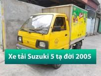 Xe tải 5 tạ Suzuki cũ thùng kín đời 2005 Hải Phòng