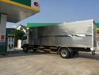 Xe tải Faw 8 tấn chiều dài lọt lòng thùng 8m2 chở linh kiện pallet, trả trước 300tr