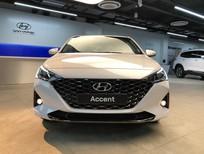 Accent 2021, màu trắng, giá chỉ 408 triệu, khuyến mãi ngay 18 triệu đồng