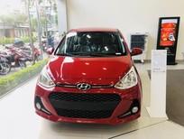 Cần bán Hyundai i10 2021, màu đỏ, khuyến mãi 50% xe giao ngay