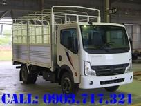 Cần bán xe tải Nissan 1T9 thùng dài 4m3 mui bạt giá tốt, giao xe ngay