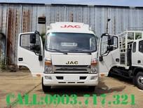 Xe tải Jac N800 thùng dài 7m6 mới 2021. Bán xe tải Jac N800 thùng mui bạt giao ngay giá tốt