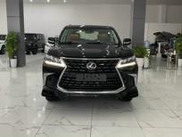 Bán Lexus LX 570S Super Sport 08 chỗ màu đen, nội thất nâu da bò, sản xuất 2021, xe giao ngay