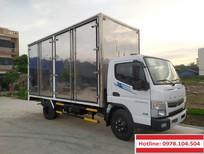 Xe tải chở Pallet 3,5 tấn thùng kín Nhật Bản Fuso Canter TF7.5