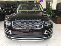 Bán Landrover Range Rover SV Autobiography L màu đỏ mận nóc đen nội thất nâu da bò, xe đang có giao ngay
