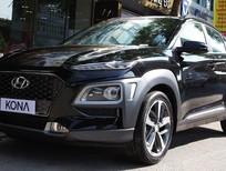 Bán xe Hyundai Kona 2021, màu đen, khuyến mãi 50tr đồng. Tặng kèm quà tặng hấp dẫn
