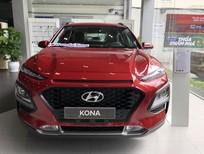 Bán Hyundai Kona 2021, màu đỏ, khuyến mãi ngay 50tr đồng và quà tặng hấm dẫn
