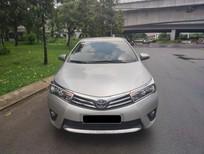 Cần bán xe Toyota Altis 1.8G 2015 màu bạc, chính hãng Toyota Sure