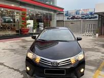 Cần bán xe Toyota Altis 1.8G 2016 màu đen, chính hãng Toyota Sure