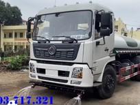Xe bồn DongFeng 9 khối nhập khẩu chở nước tưới cây rửa đường