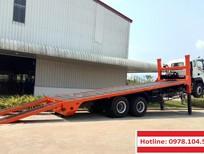Bán xe ô tô tải 14 tấn nâng đầu chở máy công trình Auman C240