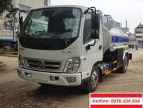 Bán xe ô tô xitec xăng dầu 4 khối Thaco Ollin700, xe cấp lẻ xăng dầu 4 khối