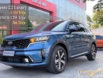 Kia Sorento Luxury 2021 xanh dương giao liền. Giá 1 114 triệu - Đưa trước 366 triệu