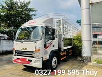 Bán xe JAC 8 tấn 35 thùng bạt inox, màu bạc, 250 triệu
