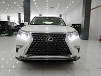Giao ngay xe Lexus GX460 Sport xuất Trung Đông màu trắng nội thất kem sáng, xe nhập mới 100%