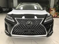 Bán xe Lexus RX350 Luxury bản Mỹ màu đen nội thất da bò sản xuất 2021 nhập mới