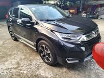 Bán ô tô Honda CR V sản xuất 2018, màu đen, nhập khẩu Thái