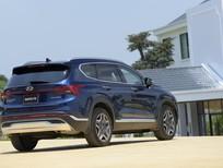 Hyundai Santafe 2021 thiết kế mạnh mẽ nội thất sang trọng