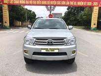 Cần bán lại xe Toyota Fortuner 2.5G 2011, màu bạc